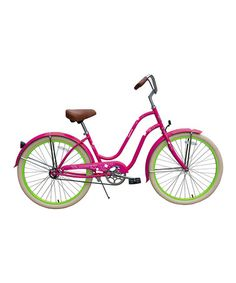 Take a look at this Hot Pink Sakura Cruiser - Women by Giddy Up Rides on #zulily today!