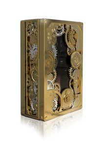 Boca Do Lobo Studio Cigar Box / Humidor - Baron Luxury Safe Silver Boca Do Lobo Portuguese Modern Brass, Gold Plate Luxury Furniture, Furniture Design, Luxury Sofa, Furniture Upholstery, Luxury Living, Luxury Flooring, Home Safes, Jewelry Show, Jewellery