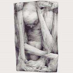 Drawing / Sans titre  #dessinpassion #bomk #draw #drawingbomk #libre #damentalvaporz #sanstitre #atelier #bomk_dmv #drawings