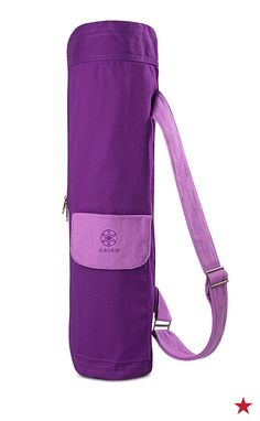 Namaste in style for each class with Gaiam s yoga mat bag. My Yoga 8eb21bb399a95