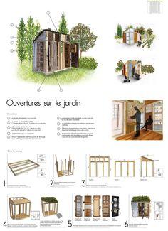 - Tanatee -: 'L'abri à bricoles' - Un abri de jardin à construire soi-même !