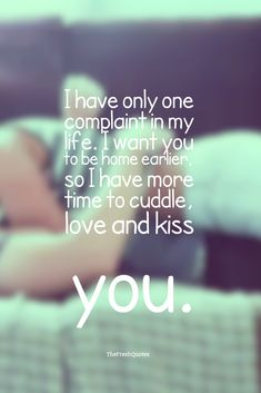 Cute Romantic I Love You Messages for Husband