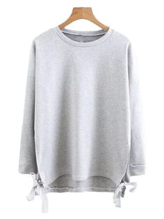 Effie  Side Tied Sweater ( 2 Colors Available ) 2 Colours 0e06f0362