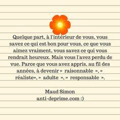 """Maud Simon est l'auteure du livre """"Fais ce qu'il te plait"""".    Dans ce livre, elle présente un programme en 12 semaines permettant de faire coïncider nos passions, notre style de vie et nos goûts avec nos"""