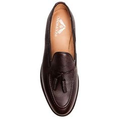 Handmade in England.       Ovadia & Sons Pebble Grain Tassle Loafers at Ikkon  Perfect for fall.