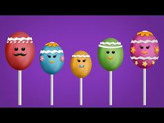 The Finger Family Easter Egg Cake Pops Family Nursery Rhyme Finger Family Song, Family Songs, Kids Nursery Rhymes, Rhymes For Kids, Easter Egg Cake Pops, Easter Eggs, Kids Tv, Fingers, Google Search