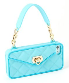 Another great find on #zulily! Teal Pursecase for iPhone 5/5s/5c #zulilyfinds