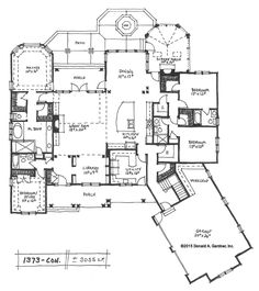 Tweet This new House Plan on the Drawing Board has a unique Arts & Crafts exterior and special features for the whole family inside! Leave a comment below with your feedback and suggestions! 4 beds, 4 baths, approximately 3055 sq. ft. Conceptual Design... #craftsman #angledgarage #conceptualdesigns