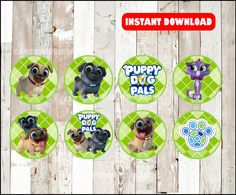 80% OFF Puppy Dog Pals toppers instant download Puppy Dog Twin Birthday, 3rd Birthday Parties, Birthday Bash, Birthday Ideas, Bingo, Cupcake Toppers Free, Dog Cupcakes, Puppy Party, Cupcake Party