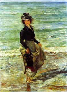 Lovis Corinth Paddel-Petermannchen (1902)