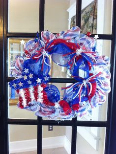 #Deco Mesh Wreath  -  Best Hotels Resorts price and availabilty from http://vacationtravelogue.com guaranteed  -  http://wp.me/s291tj-tripmama