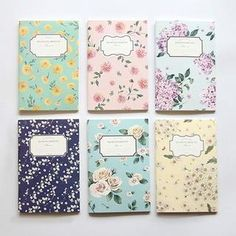 Buy 'BABOSARANG – Set: 6 Floral Print Note Books' with Free Shipping at YesStyle.co.uk. Browse and shop for thousands of Asian fashion items from South Korea and more!