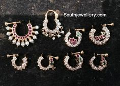 nose_rings_gold Source by Sejku Nath Nose Ring, Nose Ring Jewelry, Gold Nose Rings, Nose Stud, Ear Rings, Silver Jewellery Indian, Gold Jewellery, Bridal Jewellery, Jewelery