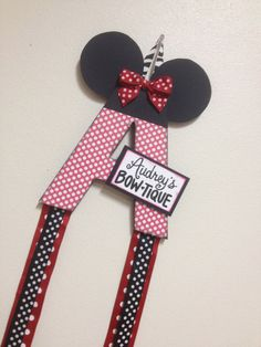 PIN NOW TO FIND LATER! SuperDuper Embellished Bow Holder cute & by WhatchawantDesign
