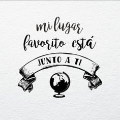 Bolsas-para-eventos.-Mi-lugar-favorito1 Love Is Sweet, Love You, My Love, Best Quotes, Love Quotes, Quince Invitations, Love Phrases, Love Wallpaper, Love Messages