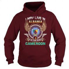 Albania-Cameroon - #mens dress shirts #zip up hoodie. CHECK PRICE => https://www.sunfrog.com/LifeStyle/Albania-Cameroon-97801733-Maroon-Hoodie.html?60505