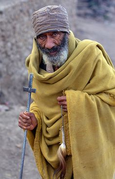 Priest. Ethiopia, Lalibela by Dietmar Temps, via Flickr