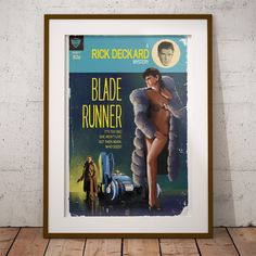 Blade Runner Pulp Cover | Timothy Anderson Design