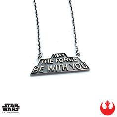 Han Cholo - May The Force Be With You necklace (sterling silver)