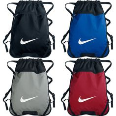 NIKE Swoosh Training Drawstring School Sack Pack Gym Beach Pool Bag Backpack NWT #NIKE #Backpack