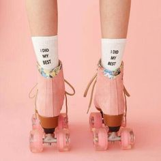 I need ❤ Moxi bubblegum skates