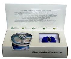 Mothers Day Gift Love Wish Pearl in Oyster Pendant Necklace 18k Gp