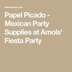 Papel Picado - Mexican Party Supplies at Amols' Fiesta Party