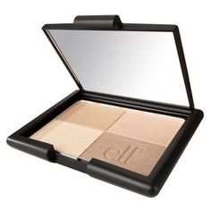 Elf golden bronzer. Used this all summer and it made my skin look bronzed and  shimmery.