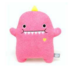 Dino Plush Toy Pink by Yiying Wang, Founder, Noodoll, $22, now featured on Fab.