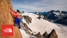CAROLINE CIAVALDINI climbing  Voie Petit in the french alps