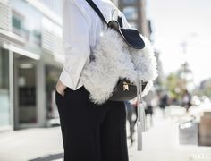 Five Days, Five Looks, One Girl: Alexandra Cronan - Vogue Daily - Fashion and Beauty News and Features Man Repeller, Cool Style, My Style, Beauty News, Cool Backpacks, First Girl, Daily Fashion, Personal Style, Vogue