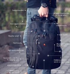 Like most of us if you are inseparable from your smartphone and other gadgets while you commute or are on an adventure, then it's natural for you to look out for recharging your devices. To keep your gadgets juiced up on the move we have these backpacks, have a look.