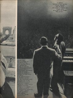 Ray Charles at the Palais des Sports in Paris, in October 1961 (from Paris Match, Nov. '61).