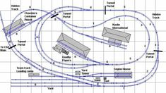 4x8 track plans - Google Search