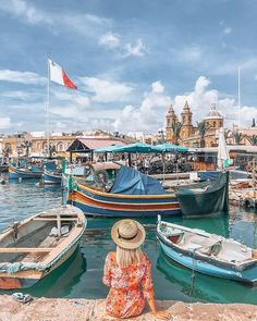 Check out this picturesque photo of Featured Photographer: Tag your with to get a chance to be on Travel Images, Travel Pictures, Malta Vacation, Malta Travel Guide, Malta Beaches, Malta Gozo, Malta Island, Cruise Travel, How To Pose