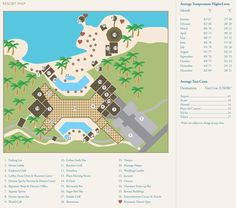 Map Layout Dreams Puerto Aventuras