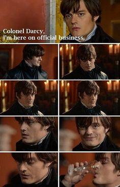 Sam Riley as Colonel Fitzwilliam Darcy in PPZ