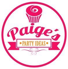 Paiges Party Ideas Logo