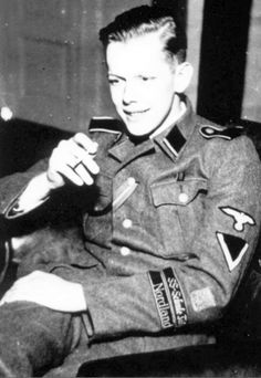 A Nordic volunteer of the Nordland division while at SS-Junkerschule Bad Tölz. The Badge above the Armbands is hard to make out but from the shape & what can be seen it looks like exactly like a badge from another photo of a Finnish Volunteer of the Nordland i shared awhile back. A good amount of Finnish went to the Bad Tölz so that wouldn't be wrong… Any identification thoughts are always welcome! I tried Google searching the photo but i got nothing, got the photo from Rei...