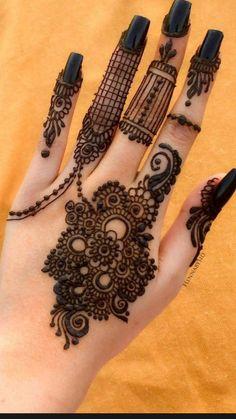 Floral Henna Designs, Basic Mehndi Designs, Henna Tattoo Designs Simple, Latest Bridal Mehndi Designs, Stylish Mehndi Designs, Henna Art Designs, Mehndi Designs For Girls, Mehndi Designs For Beginners, Mehndi Design Photos