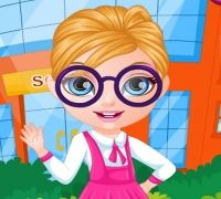 Bebek Barbie Okul Saçları