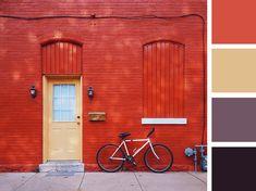 Presentation Color Palette - Red Brick House