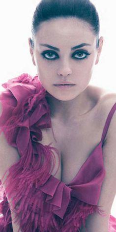 Mila Kunis- innocent and naughty at the same time, #YourEyeBrowsLookJackedUpThoCantEvenAllowYouButILoveYouThoughEvenWithYourUglyEyeBrows