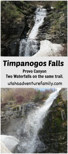 Timpanogos Falls: This is a more moderate hike because of it's distance and climb, but there are two gorgeous waterfalls on the trail!