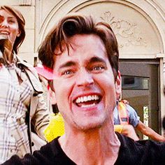 Watching Matt Bomer Laugh Is the Most Beautiful Sight in the World   Hollyscoop