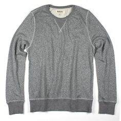 Heather Grey Sweatshirt by BARQUE. The ultimate sweatshirt crafted in the softest cotton yarns -lightweight with a modern shape. THE ROYAL BLOKE