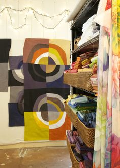 march 19, 2015 (Robin Ferrier - Hand Dyed Fabrics - Contemporary Quilts - Art…