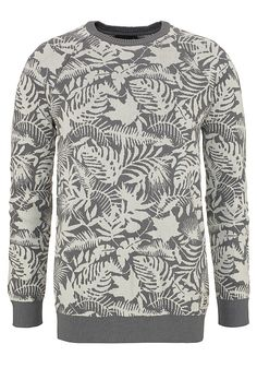 Allover-Printsweater im Streetwear-Dschungel