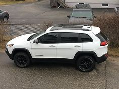 2015 Jeep Cherokee Trailhawk for sale 2014 Jeep Cherokee Trailhawk, Lifted Jeep Cherokee, Jeep Cherokee 2017, Suv Cars, Jeep Jeep, White Jeep Grand Cherokee, Jeep Cherokee Accessories, Jeep Sport, Autos