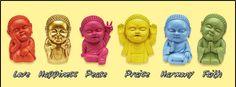 Pocket Buddhas.... so cute!